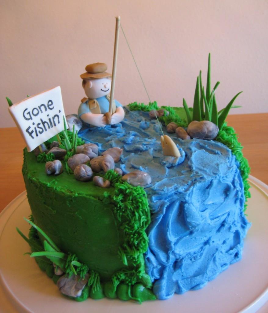 Fishing Birthday Cakes  Fishing Cakes – Decoration Ideas