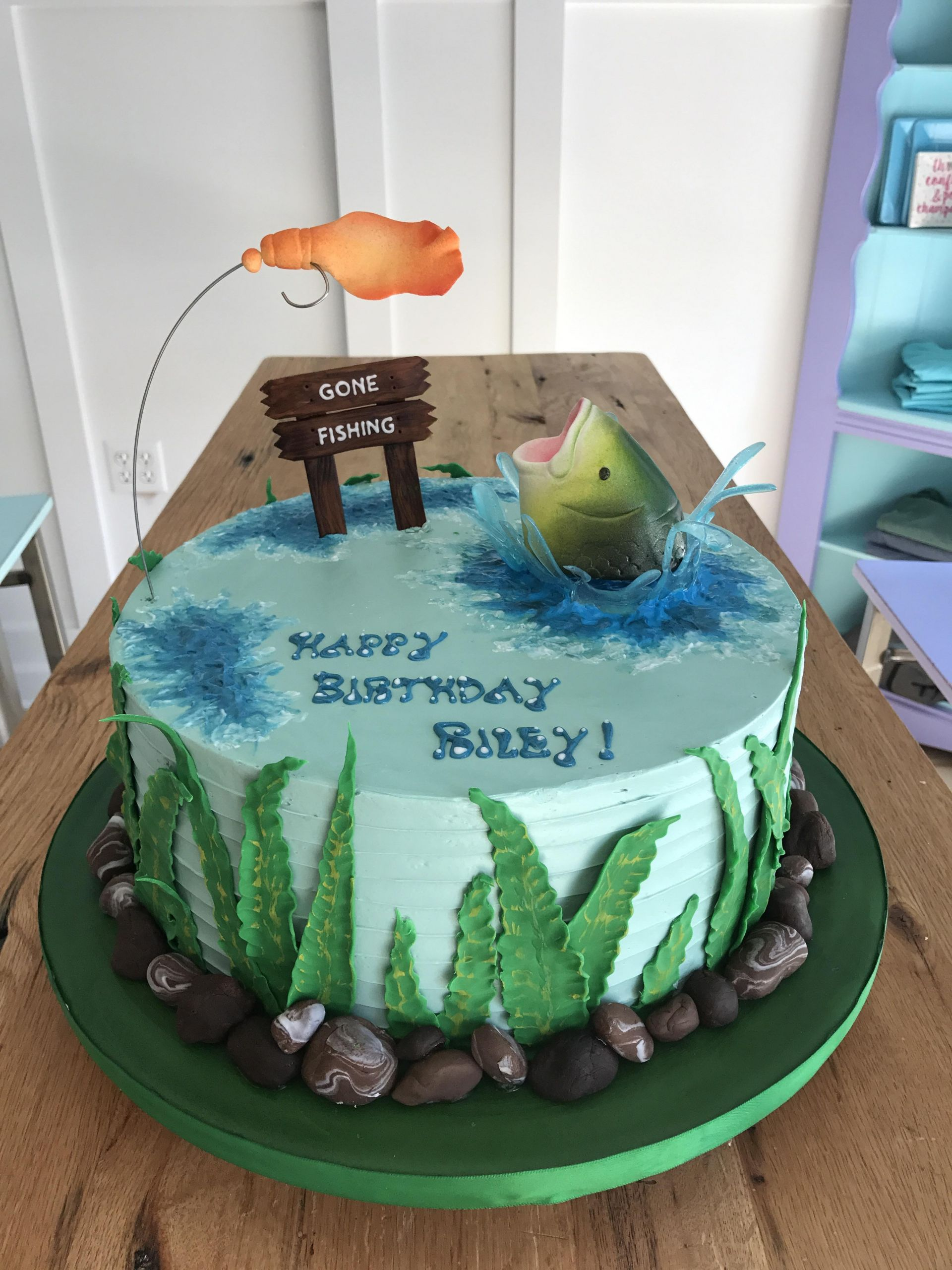 Fishing Birthday Cakes  overview for proudfkl21