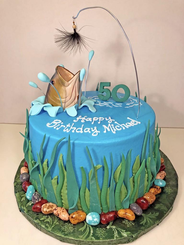 Fishing Birthday Cakes  Birthday Cakes for Men