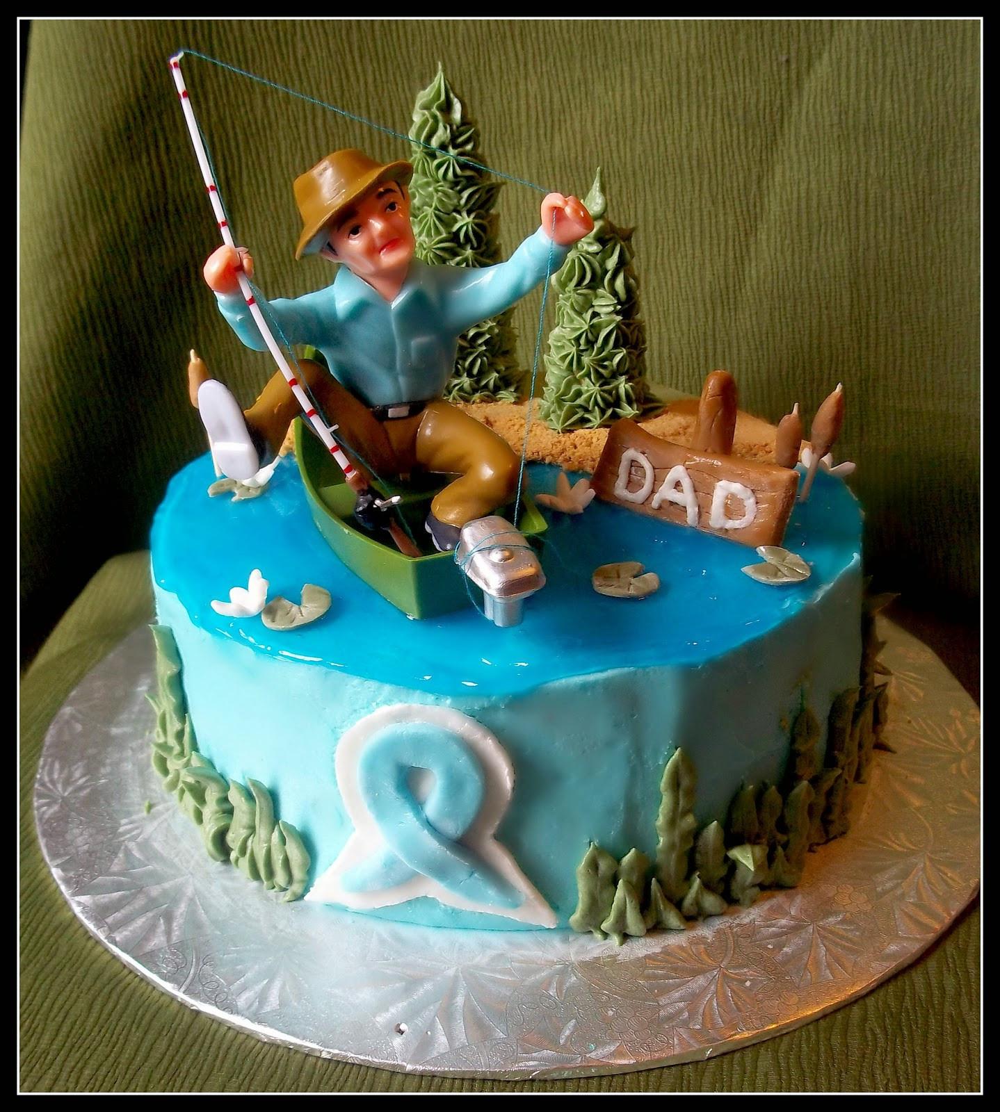 Fishing Birthday Cakes  Birthday Cake Fishing Cakes Men