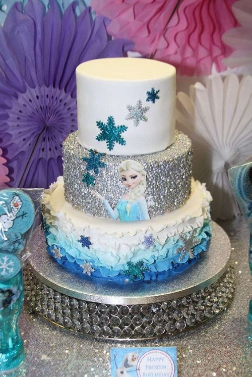 Frozen Birthday Cake Ideas  21 Disney Frozen Birthday Cake Ideas and My Happy