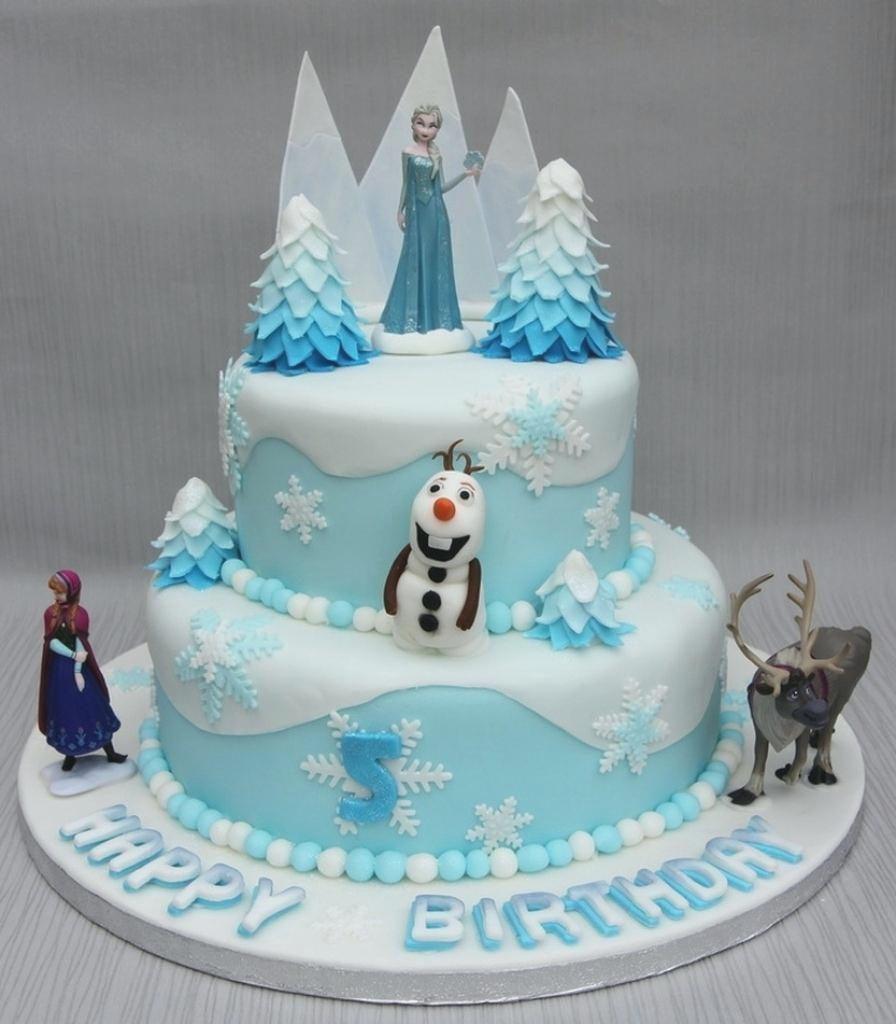 Frozen Birthday Cake Ideas  15 Amazing and Creative Birthday Cake Design ideas for Girls