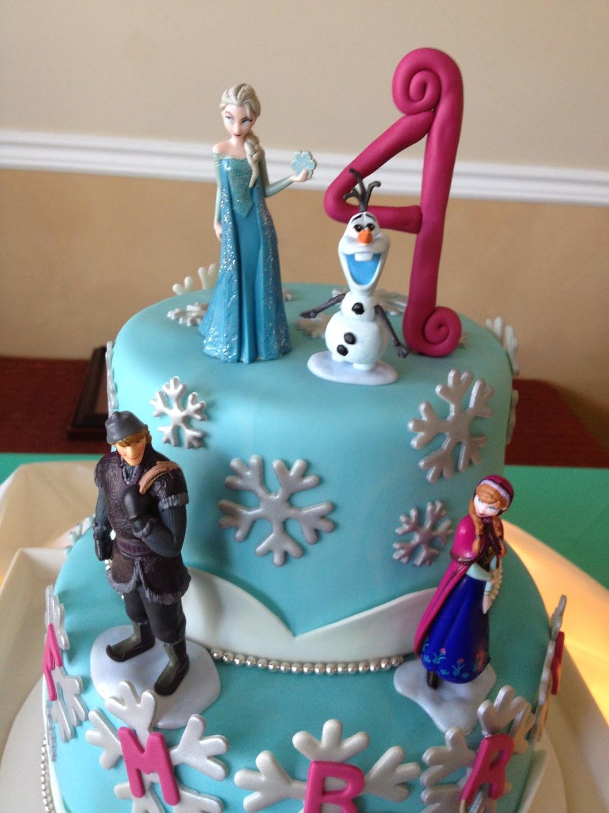 Frozen Birthday Cake Ideas  Sugar Love Cake Design Frozen Birthday Cake
