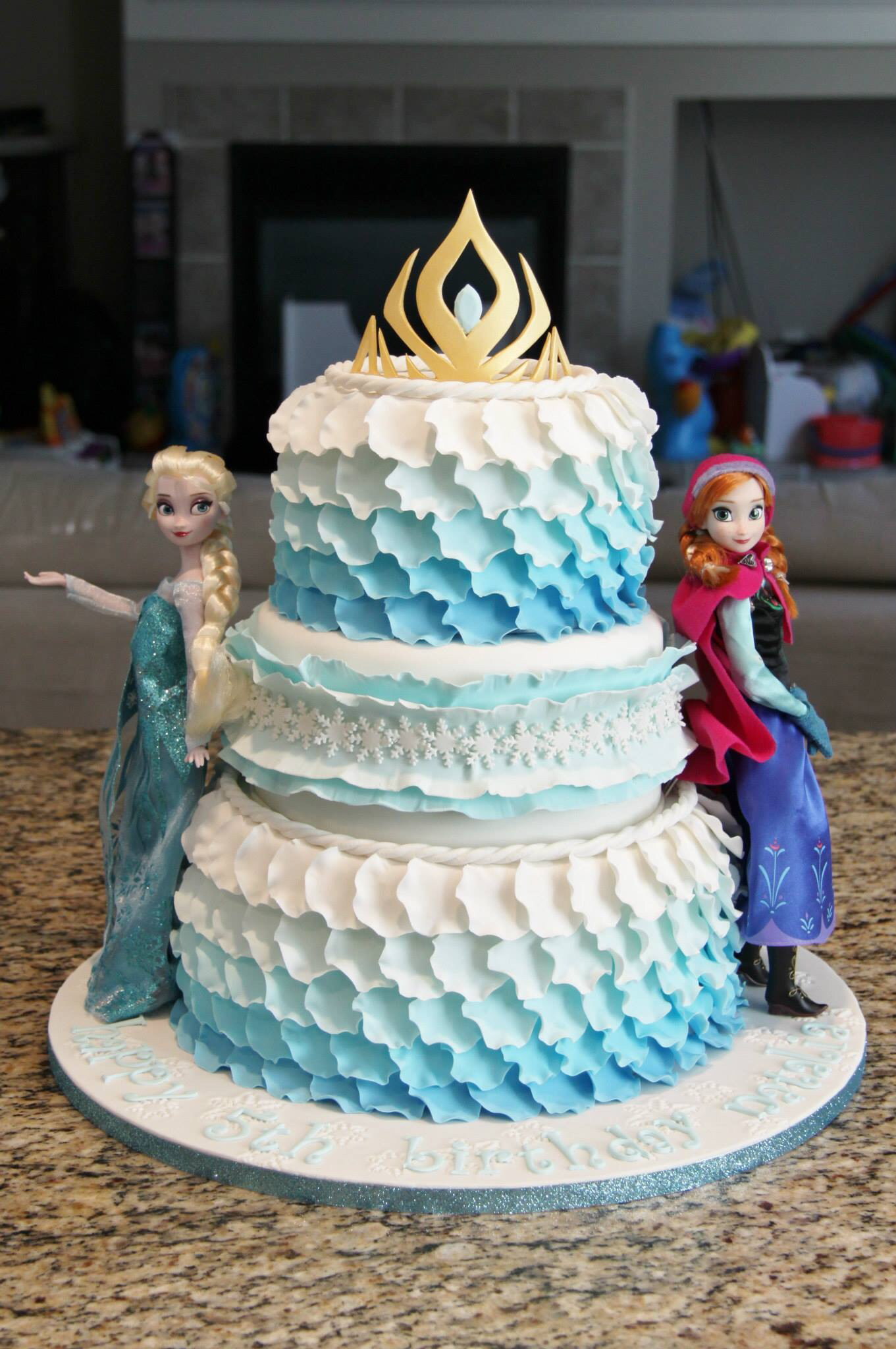 Frozen Birthday Cake Ideas  Elsa Birthday Cakes