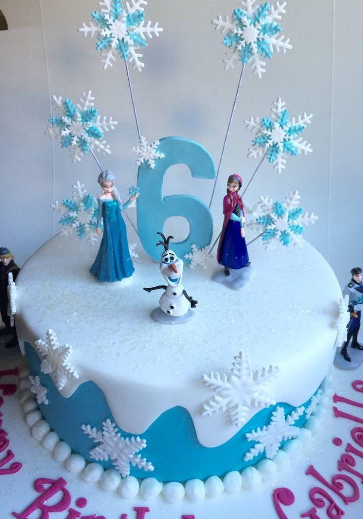 Frozen Birthday Cake Ideas  Fantasizing Frozen Birthday Party Ideas along with