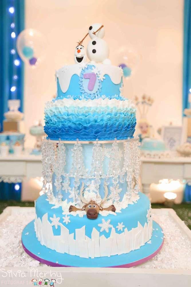 Frozen Birthday Cake Ideas  8 of the Coolest Frozen Birthday Cakes Ever