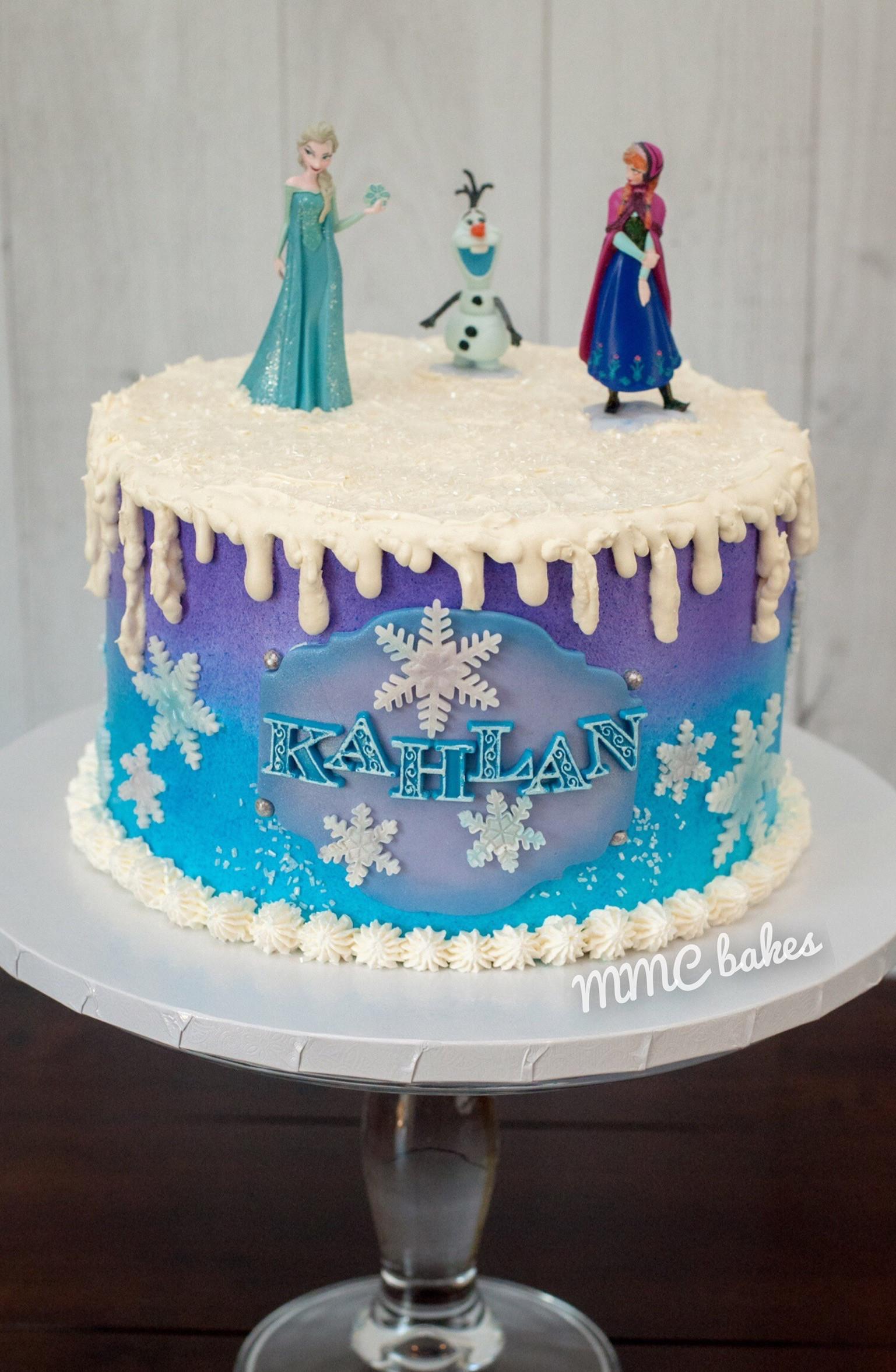 Frozen Birthday Cake Ideas  Frozen Birthday Cake – MMC Bakes