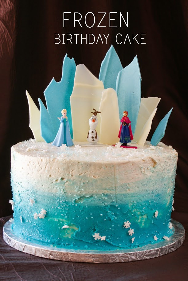 Frozen Birthday Cake Ideas  My Gluten Free Bakery Layer Cake Frozen Theme