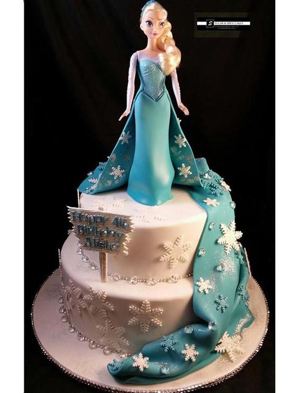Frozen Birthday Cake Ideas  Frozen birthday cake ideas goodtoknow