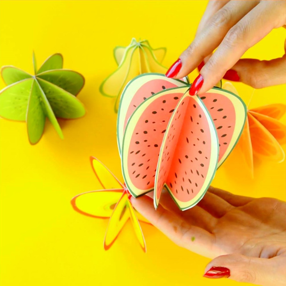 Fruit Crafts For Toddlers  5 Fruit and ve able art and craft activities for kids