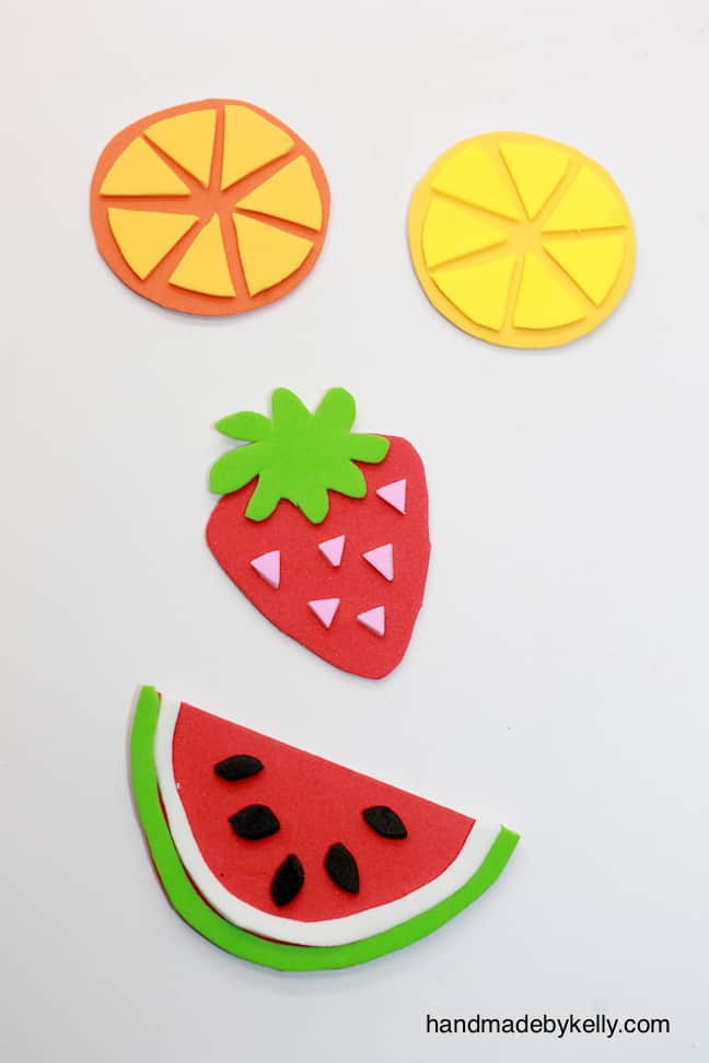 Fruit Crafts For Toddlers  12 FUN AND COLORFUL FRUIT CRAFTS