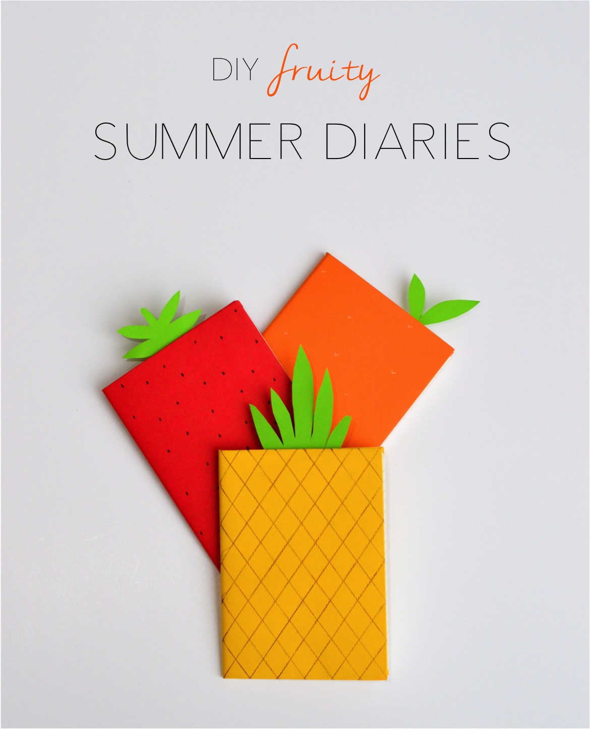 Fruit Crafts For Toddlers  DIY fruity Summer diary