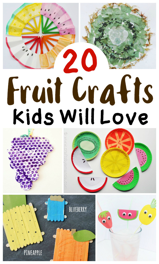 Fruit Crafts For Toddlers  Fruit Craft Ideas for Kids – Brought to You by Mom