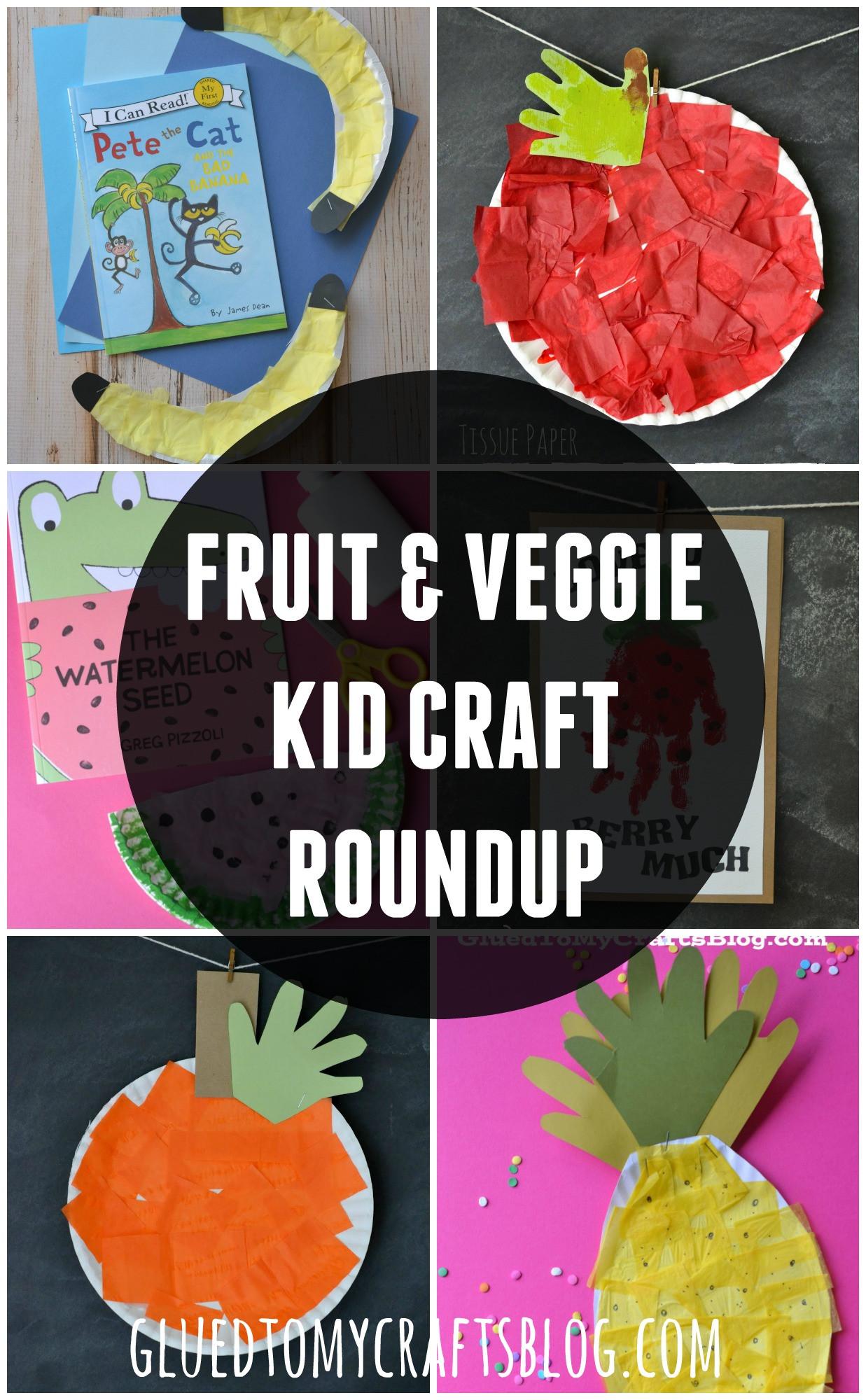 Fruit Crafts For Toddlers  Fruit & Veggie Kid Craft Roundup