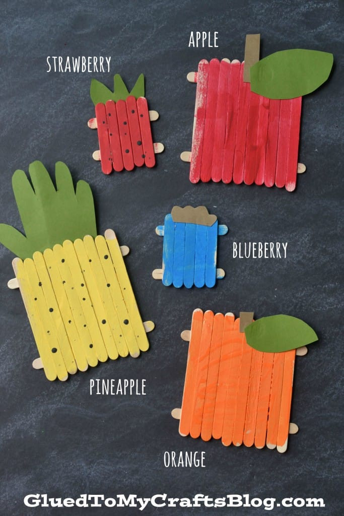 Fruit Crafts For Toddlers  hello Wonderful 12 FUN AND COLORFUL FRUIT CRAFTS