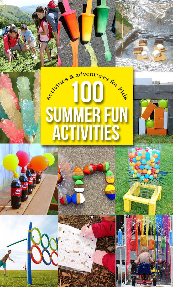 Fun Projects For Toddlers  100 Outdoor Activities for Kids