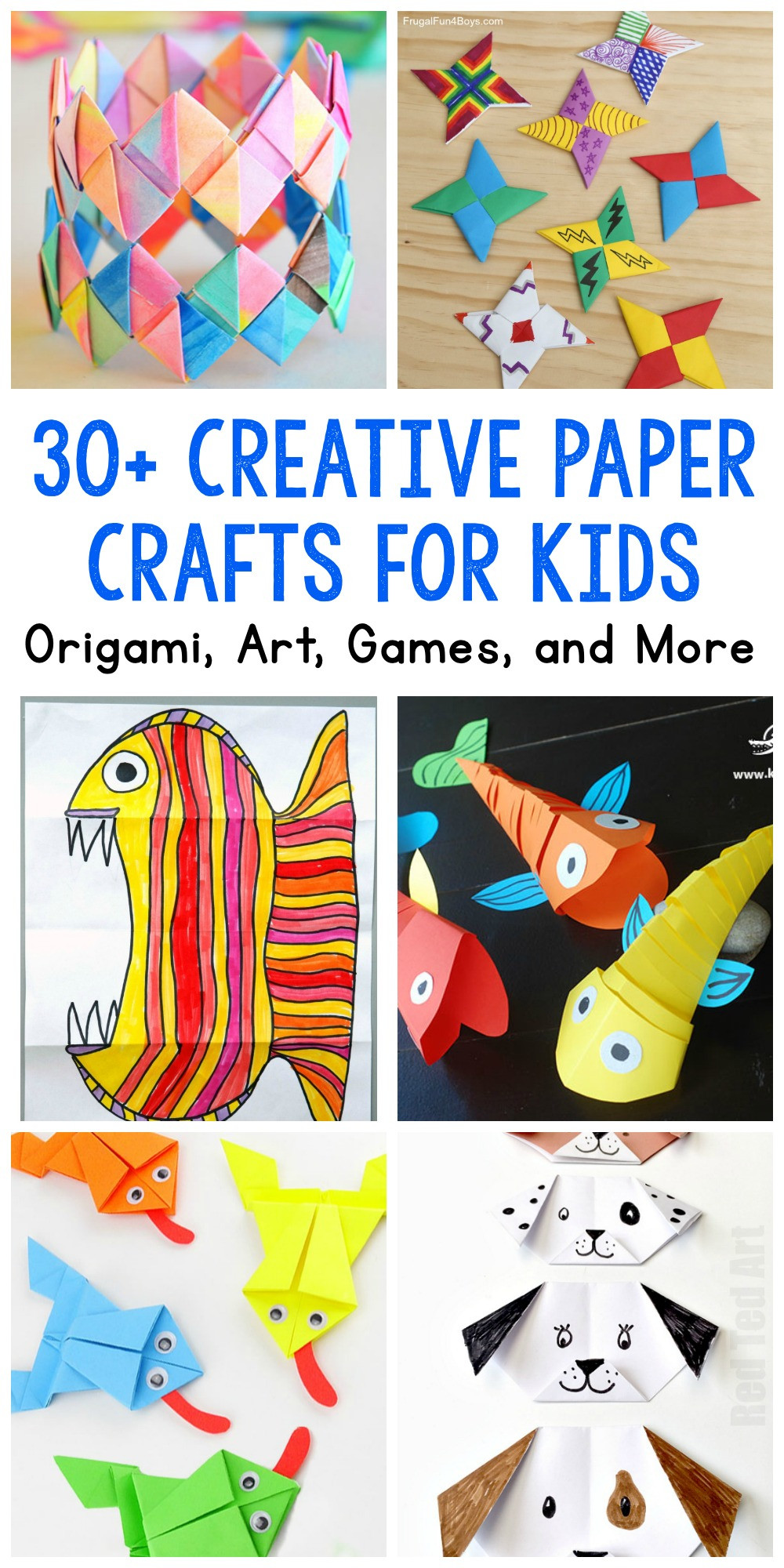Fun Projects For Toddlers  Paper Crafts for Kids 30 Fun Projects You ll Want to Try