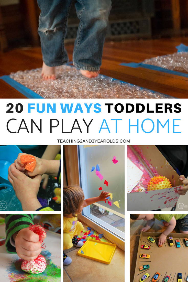 Fun Projects For Toddlers  20 Fun and Easy Toddler Activities for Home