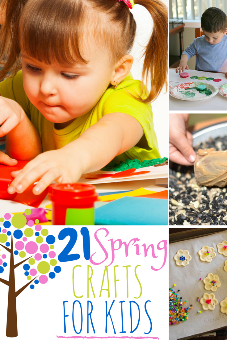 Fun Projects For Toddlers  21 Fun Spring Crafts and Activities for Kids The Best of