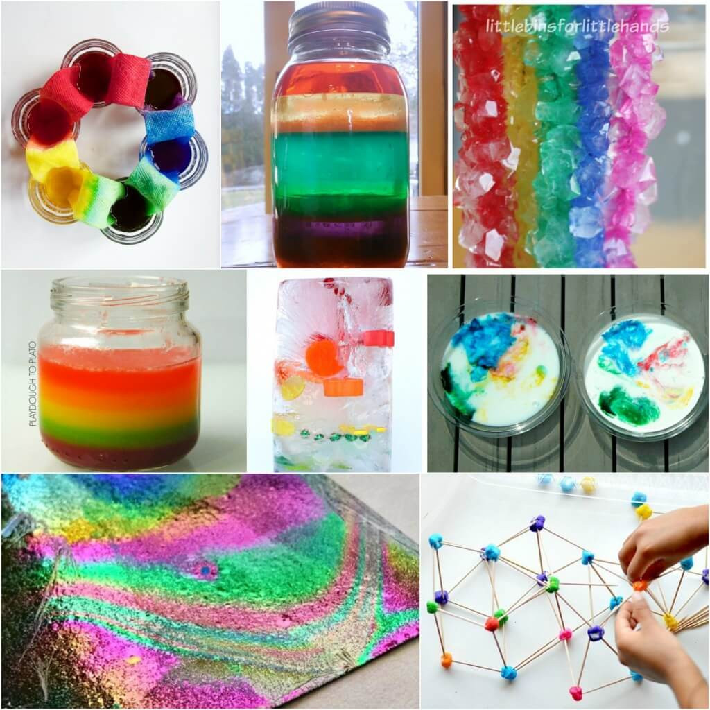 Fun Projects For Toddlers  25 Rainbow Activities for Kids Playdough To Plato