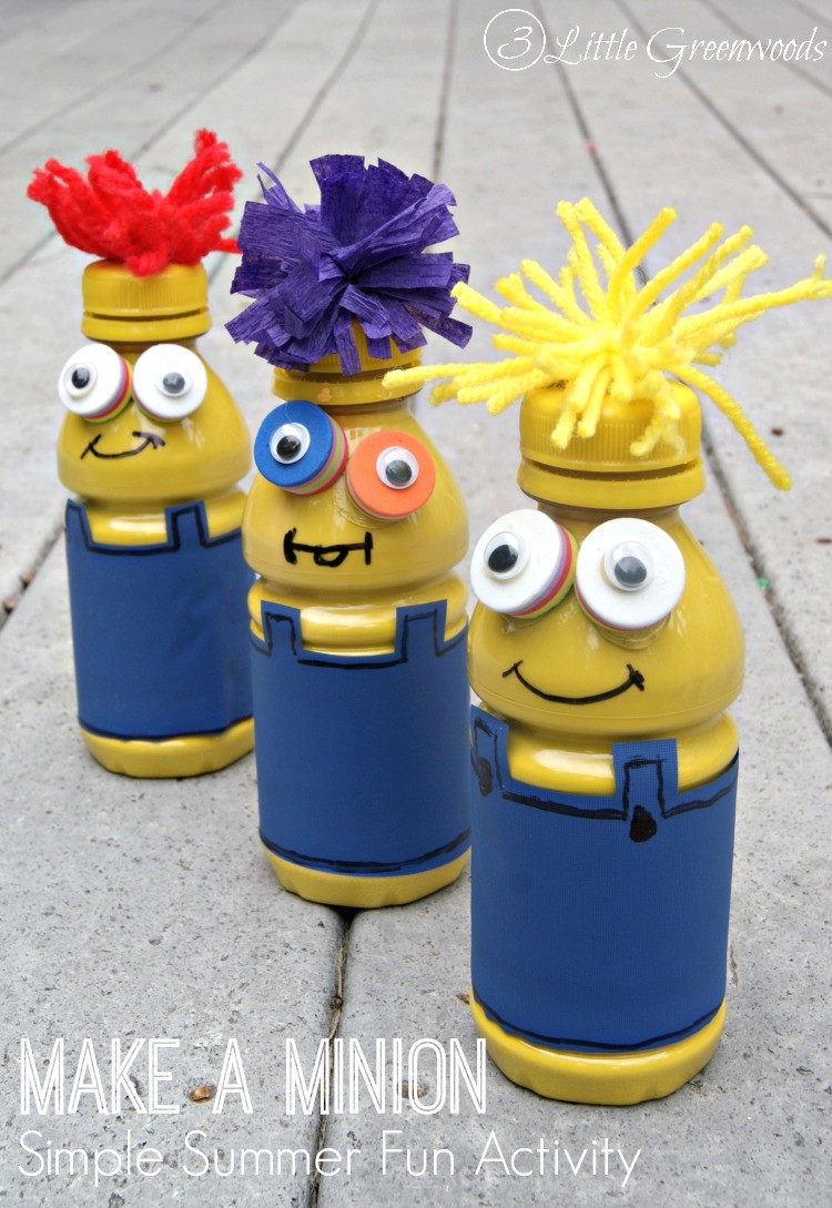 Fun Projects For Toddlers  Make A Minion fun activities for kids
