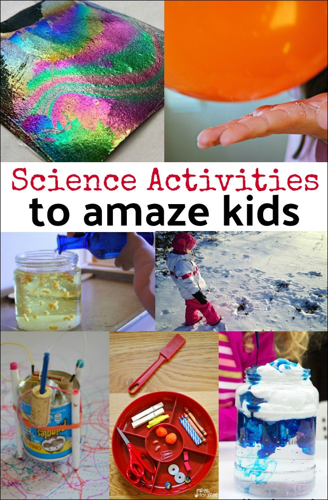 Fun Projects For Toddlers  10 Science Activities for Kids Mess for Less