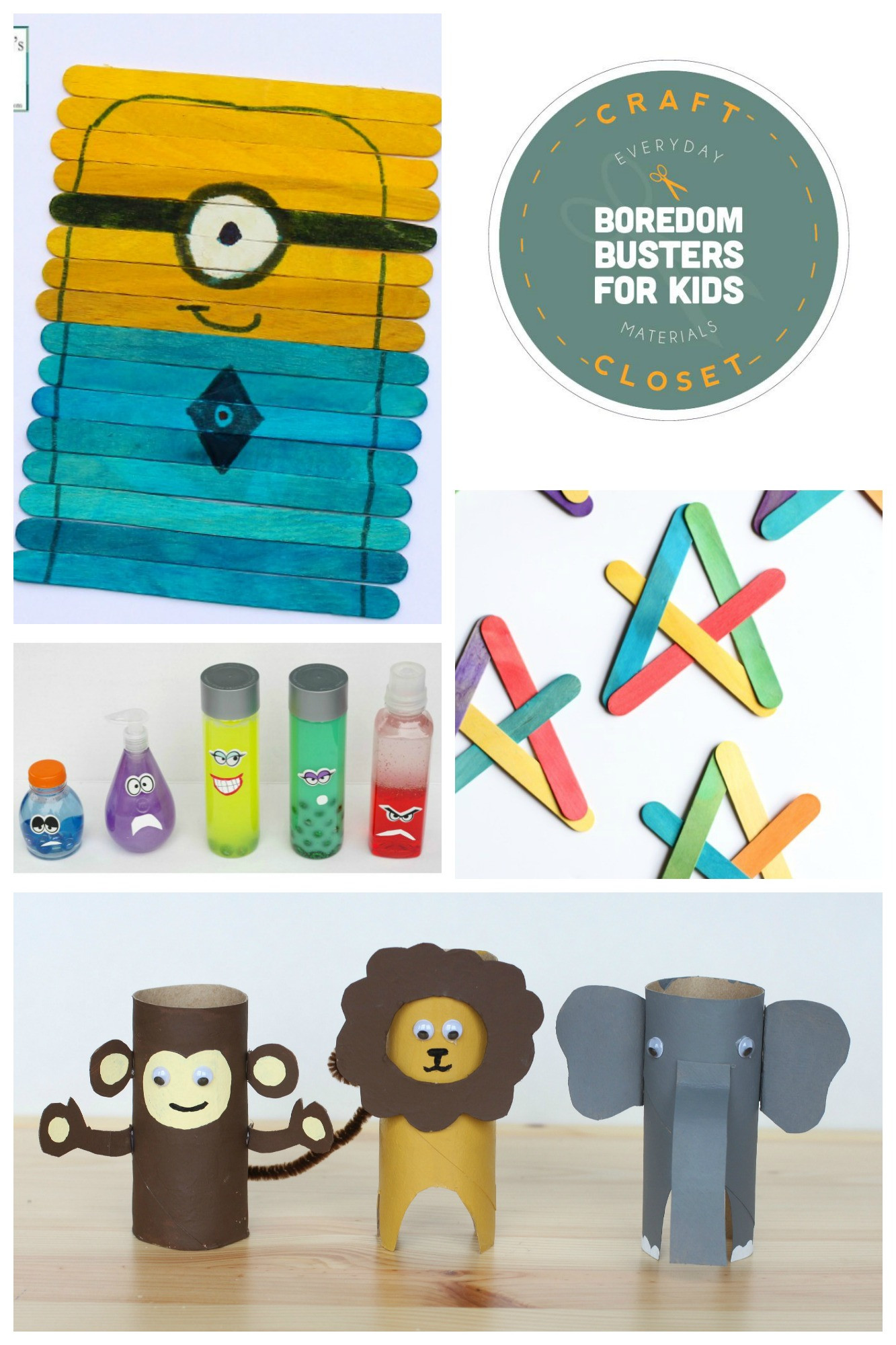 Fun Projects For Toddlers  25 Crafts and Activities for Kids Using Everyday