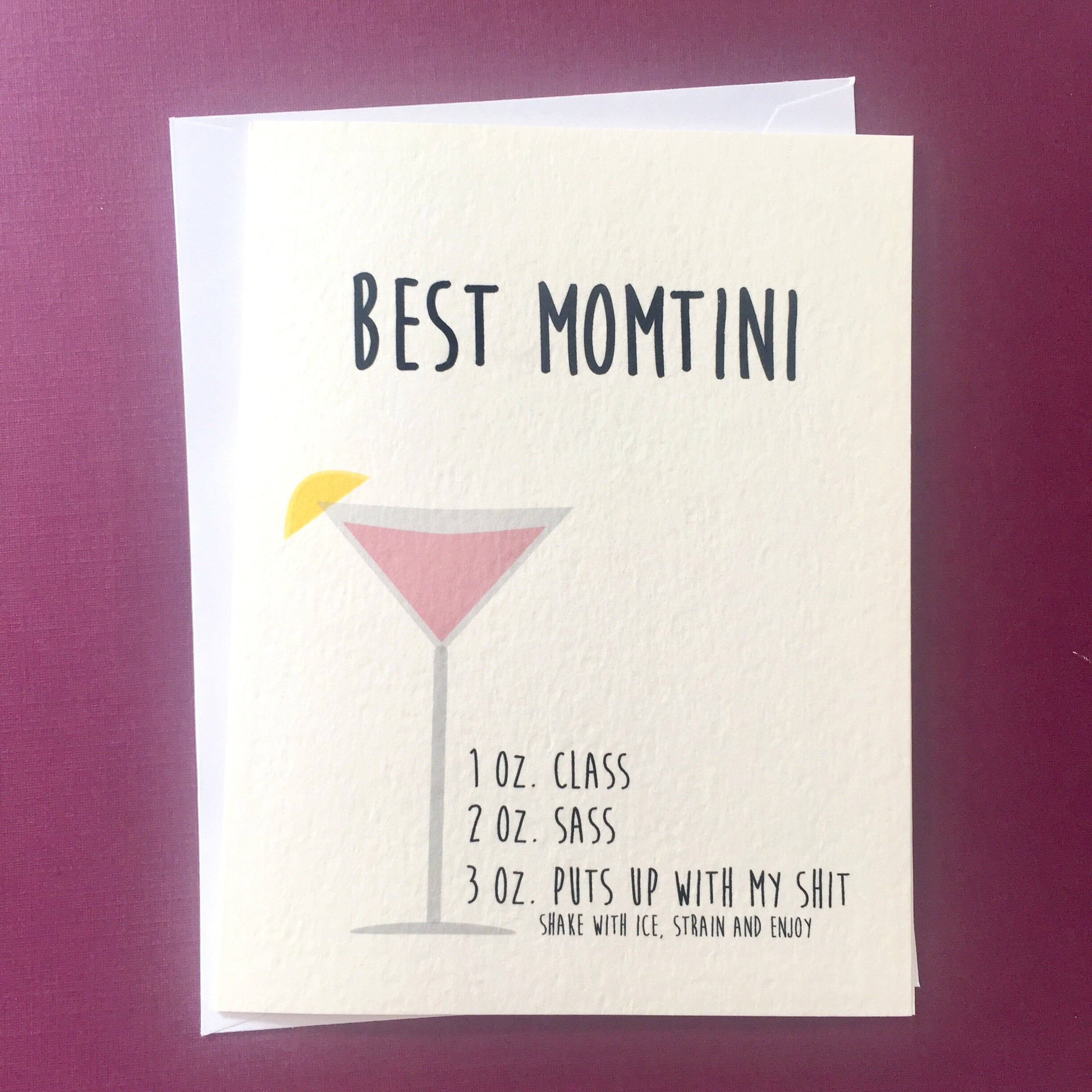 Funny Birthday Card For Mom  Mothers Day Card Funny Birthday Card for Mom Mom Birthday