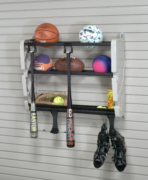 Garage Sports Organizer  Easy Ways to Organize Your Garage This Weekend