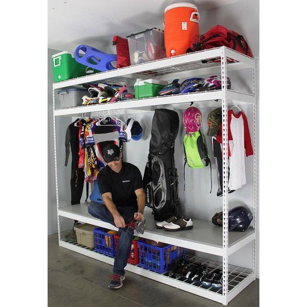 Garage Sports Organizer  Shop SafeRacks Sports Equipment Organizer Free