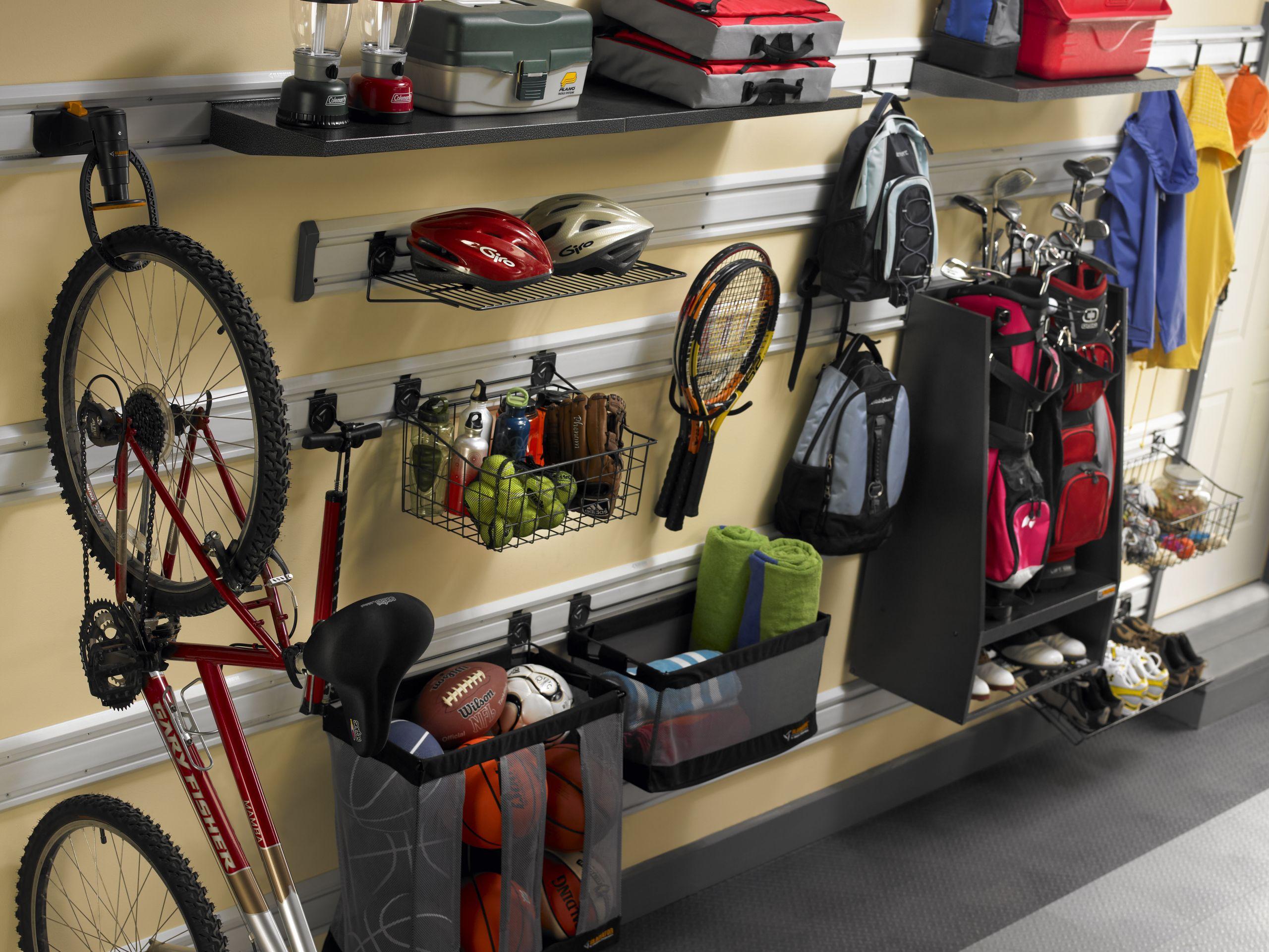 Garage Sports Organizer  Orlando Garage Storage