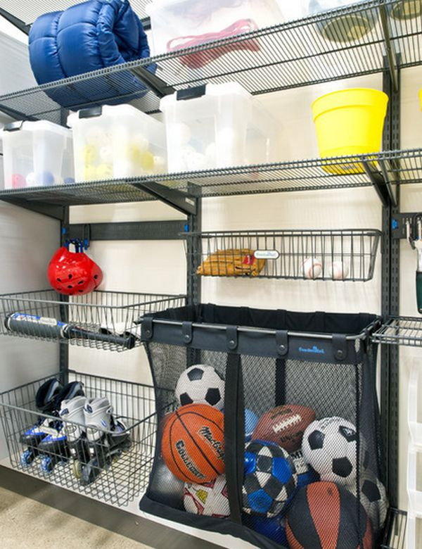 Garage Sports Organizer  Time To Sort Out The Mess – 20 Tips For A Well Organized