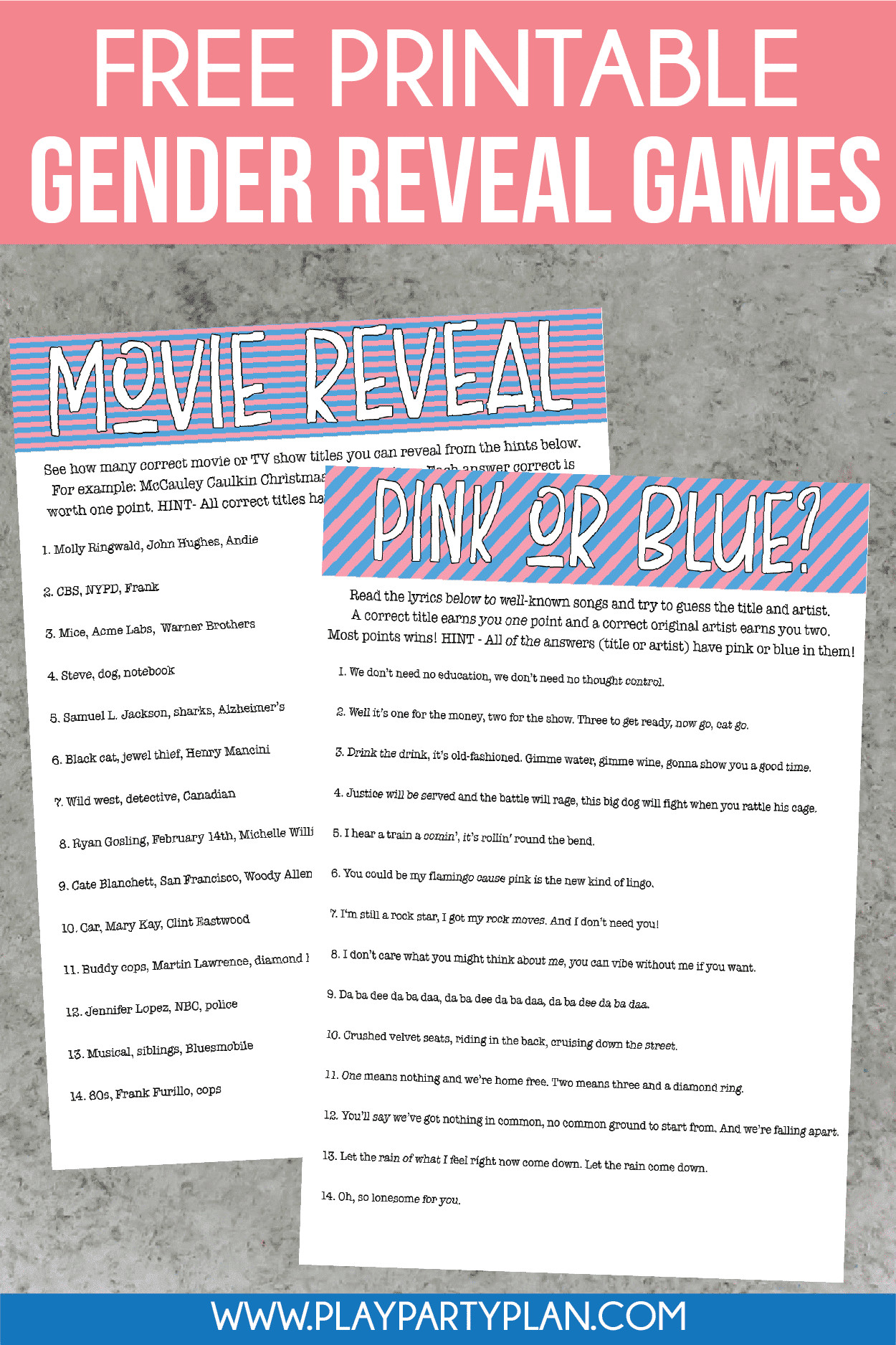 Gender Party Ideas Games  12 of the Best Gender Reveal Party Games Ever Play Party