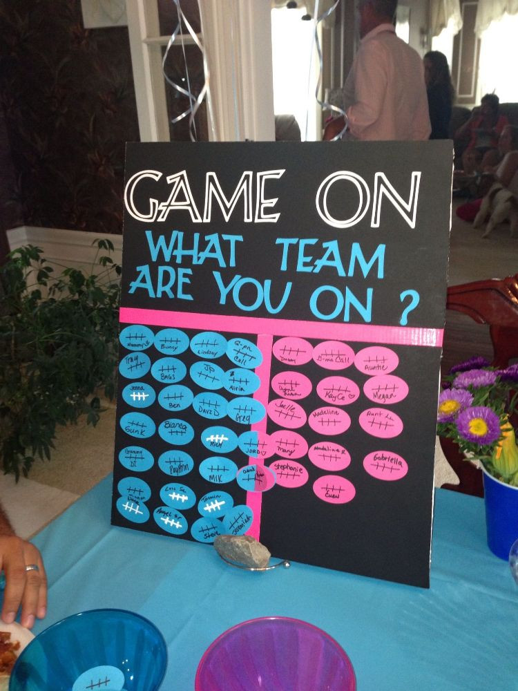 Gender Party Ideas Games  80 Exciting Gender Reveal Ideas to Memorialize Your Baby s
