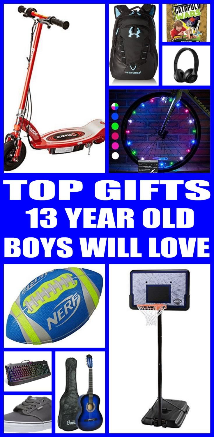 Gift Ideas 13 Year Old Boys  Best Gifts for 13 Year Old Boys