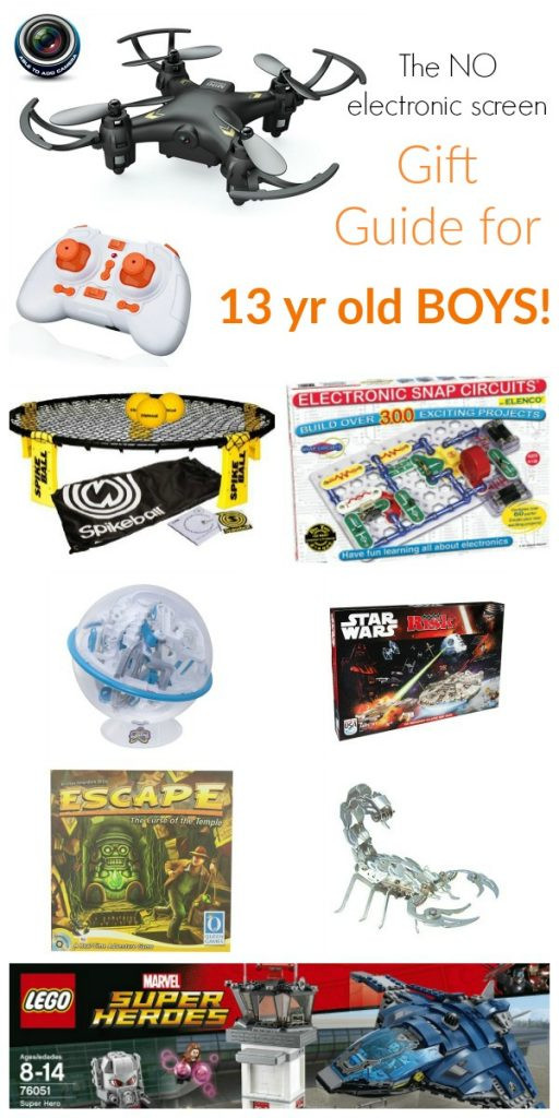 Gift Ideas 13 Year Old Boys  Gift Guide for 13 Year Old Boys