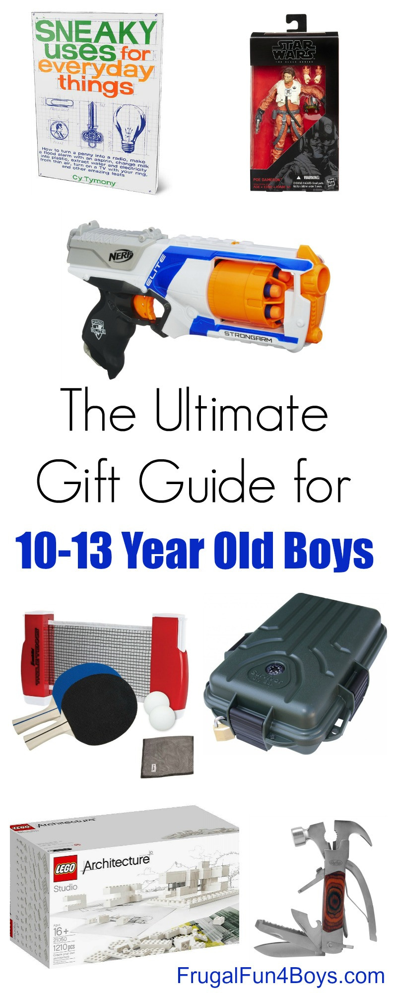 Gift Ideas 13 Year Old Boys  Gift Ideas for 10 to 13 Year Old Boys Frugal Fun For