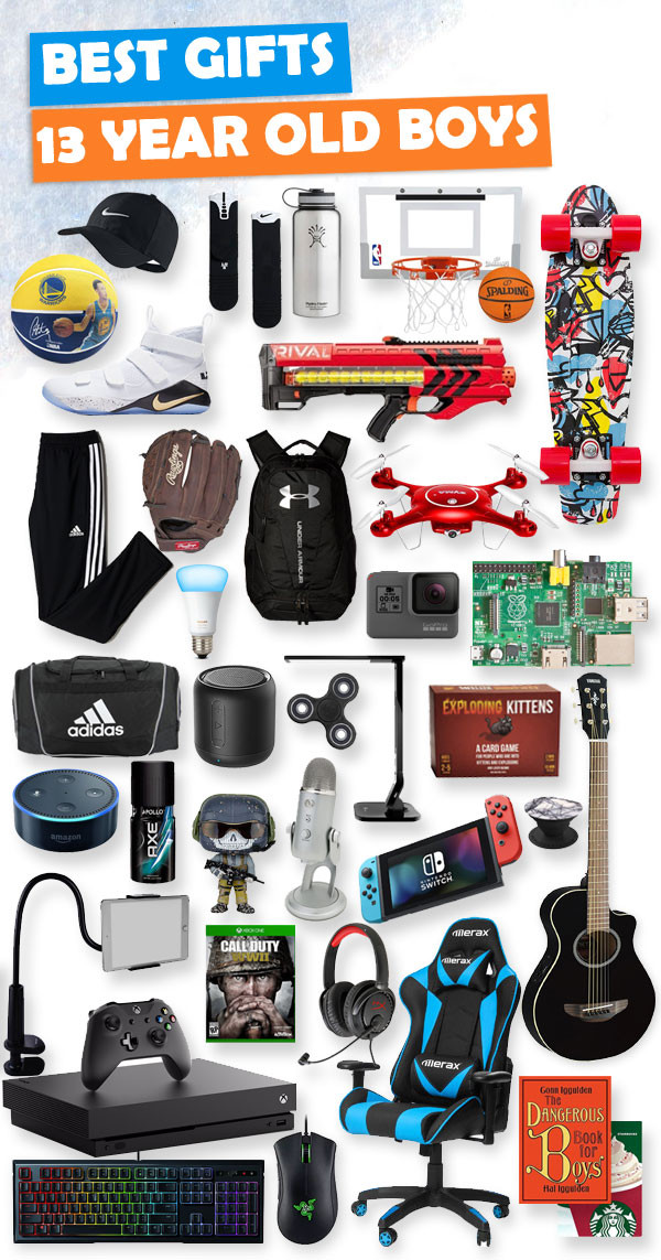 Gift Ideas 13 Year Old Boys  Top Gifts for 13 Year Old Boys