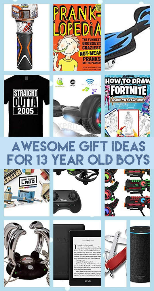 Gift Ideas 13 Year Old Boys  Gift Ideas for 13 Year Old Boys Best ts for teen boys