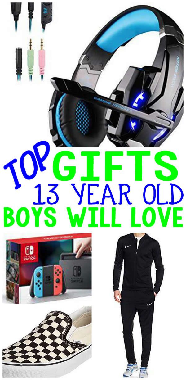Gift Ideas 13 Year Old Boys  BEST Gifts 13 Year Old Boys Will Love