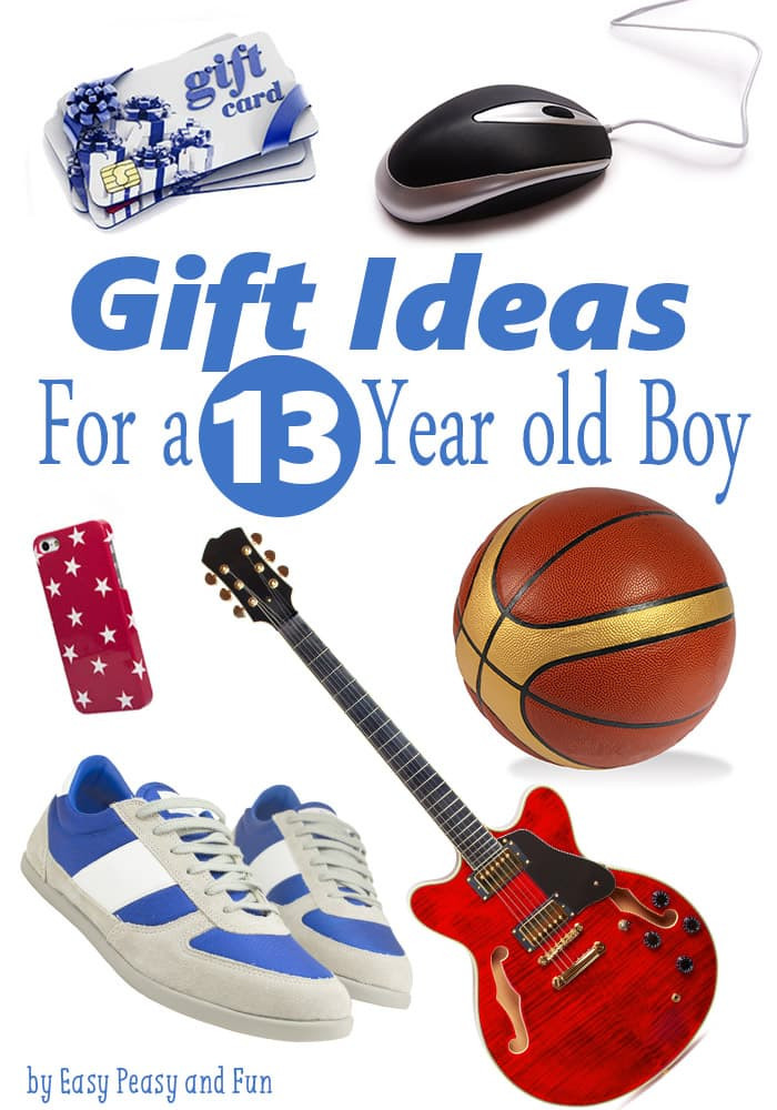 Gift Ideas 13 Year Old Boys  Best Gifts for a 13 Year Old Boy Easy Peasy and Fun