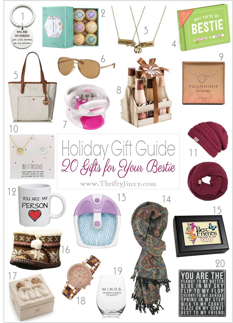 Gift Ideas For Best Friends  Best Friend Gift Ideas Pick a Present Your BFF Will Love
