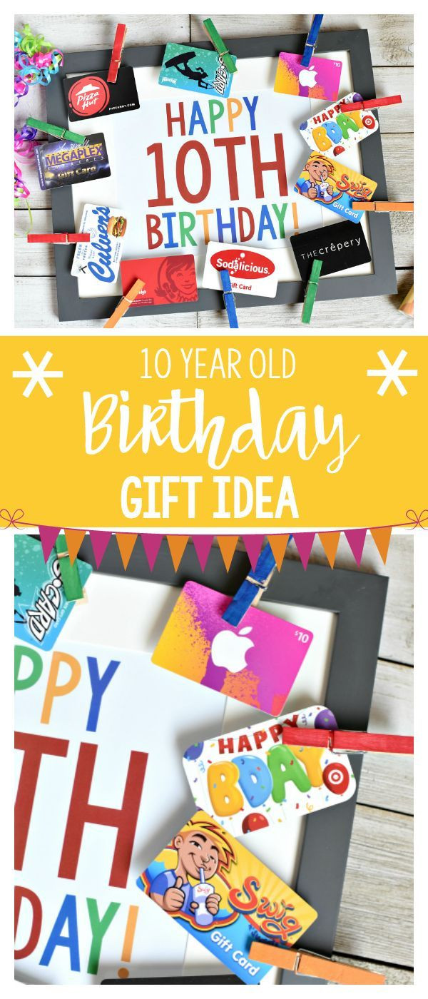 Gift Ideas For Boys 10  Fun Birthday Gifts for 10 Year Old Boy or Girl