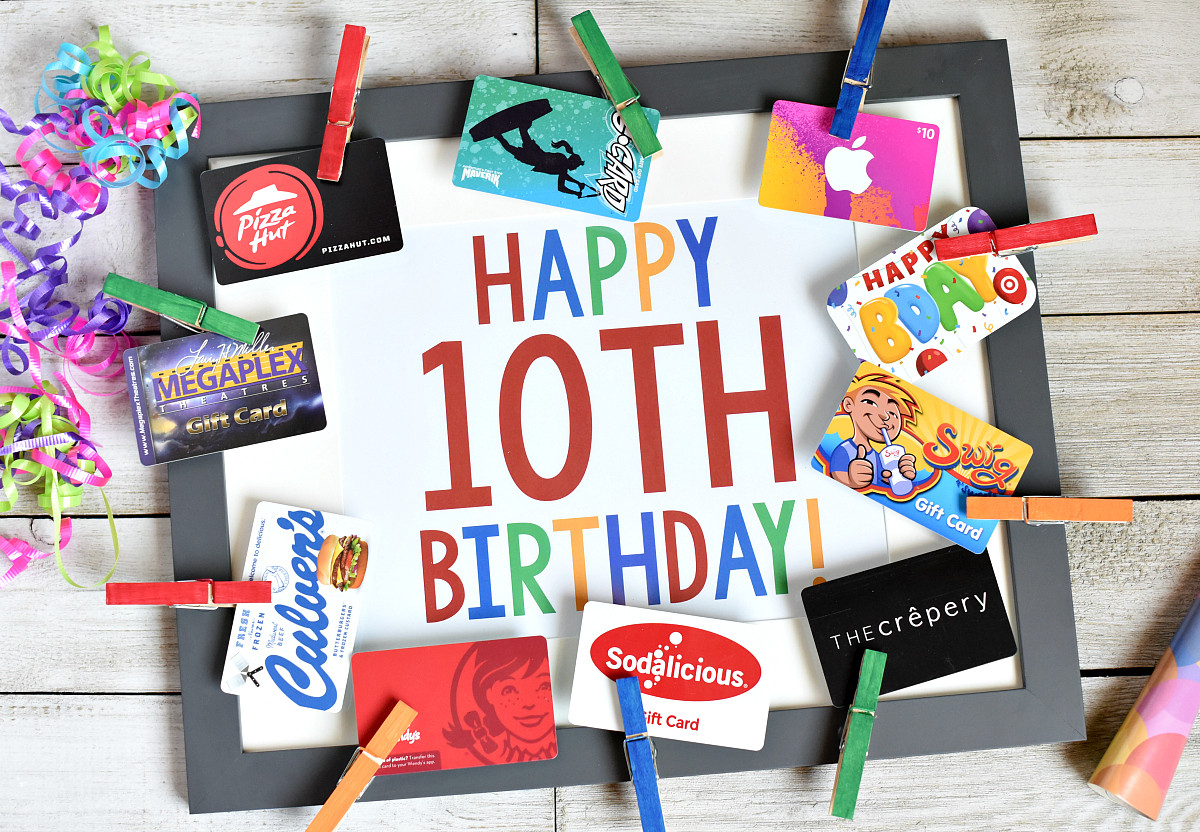 Gift Ideas For Boys 10  16 Fun & Creative Ways to Give Gift Cards – Fun Squared