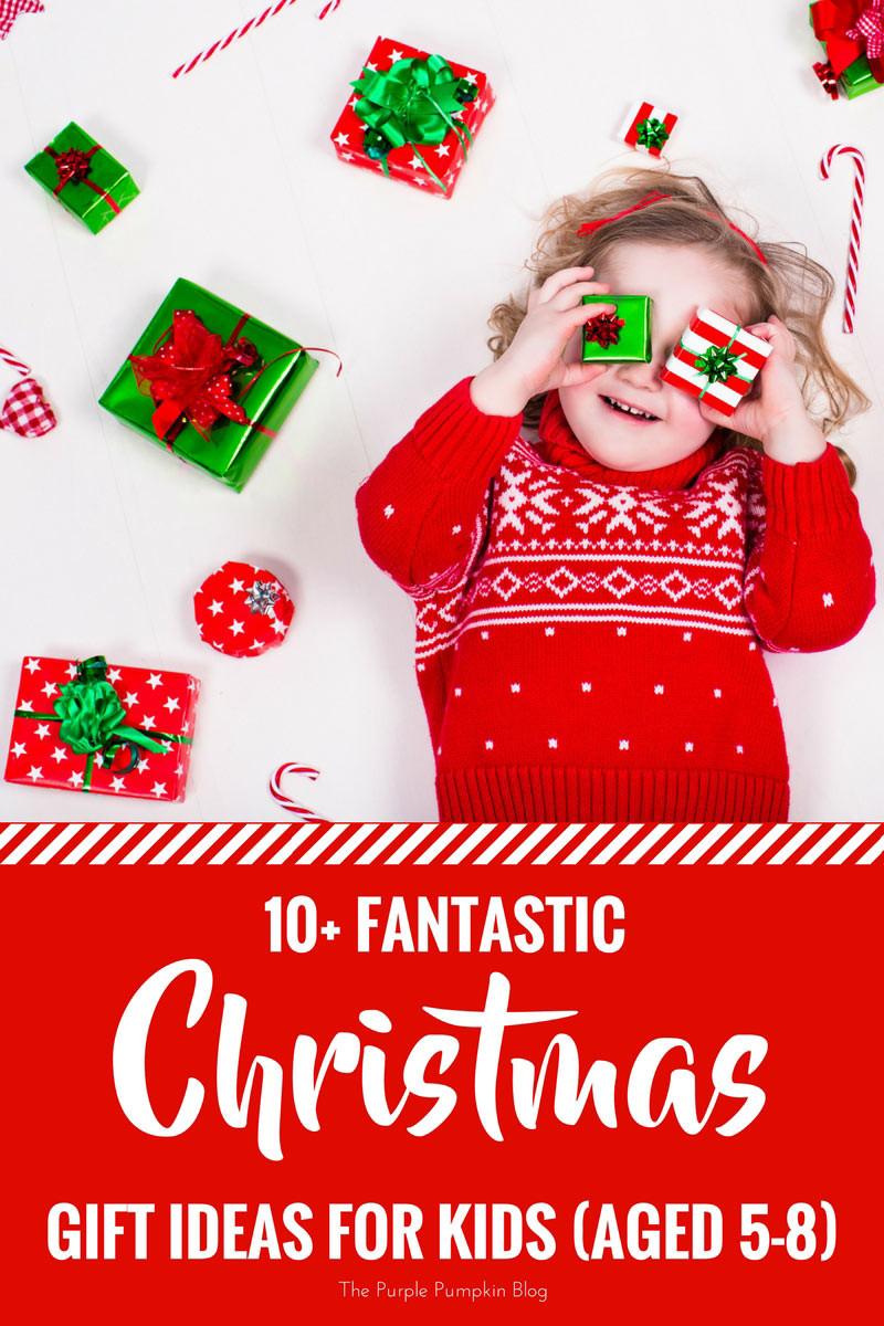 Gift Ideas For Children  Fantastic Christmas Gift Ideas For Kids aged 5 8