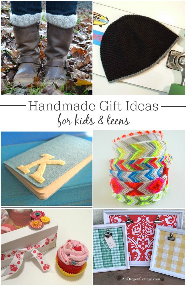 Gift Ideas For Children  25 Handmade Gift Ideas for Kids and Teens