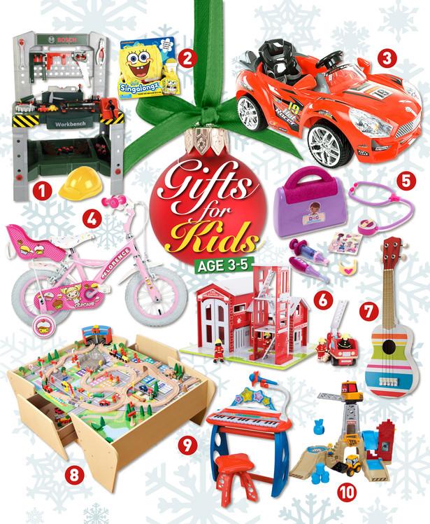 Gift Ideas For Children  Christmas t ideas for kids age 3 5 Adele Jennings