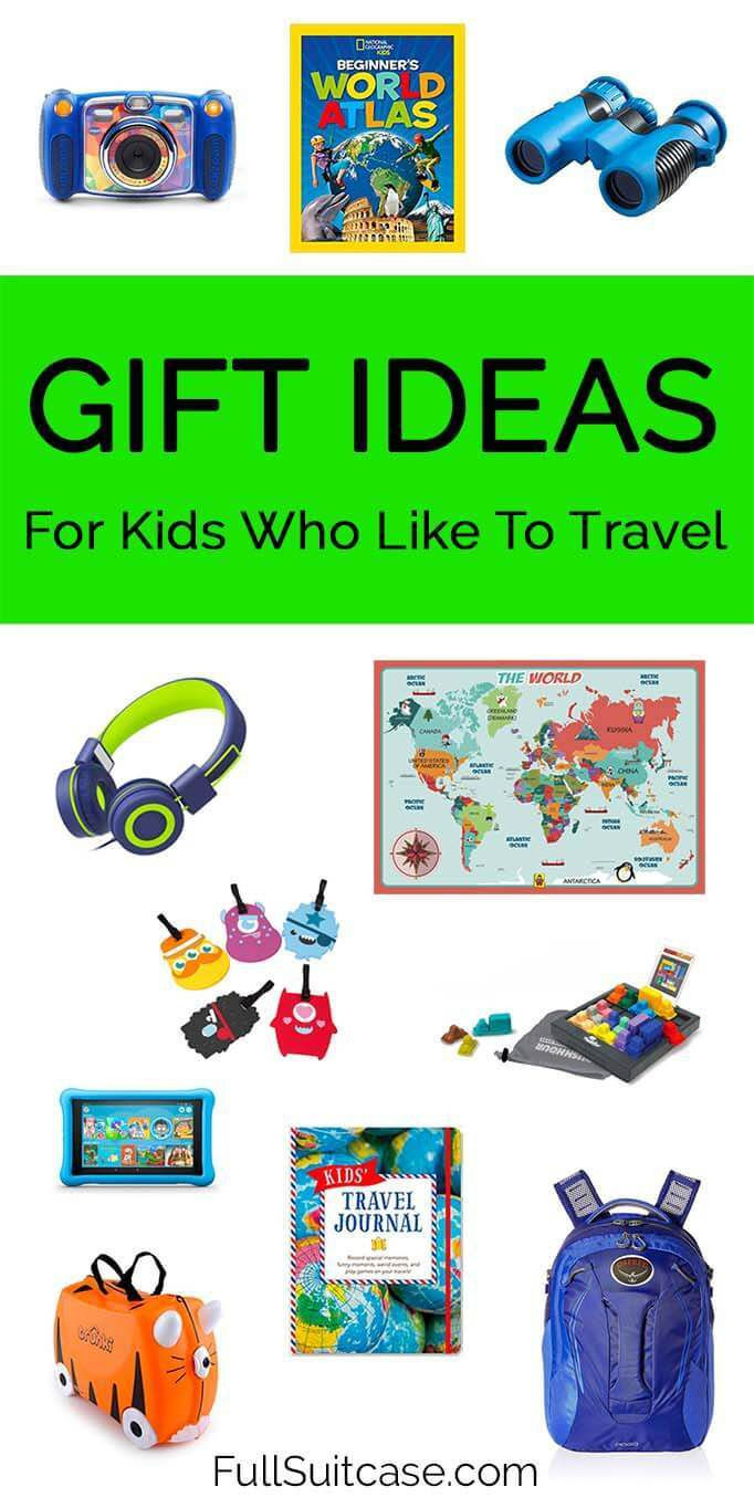 Gift Ideas For Children  21 Fun Travel Gifts for Kids That They ll Actually Use