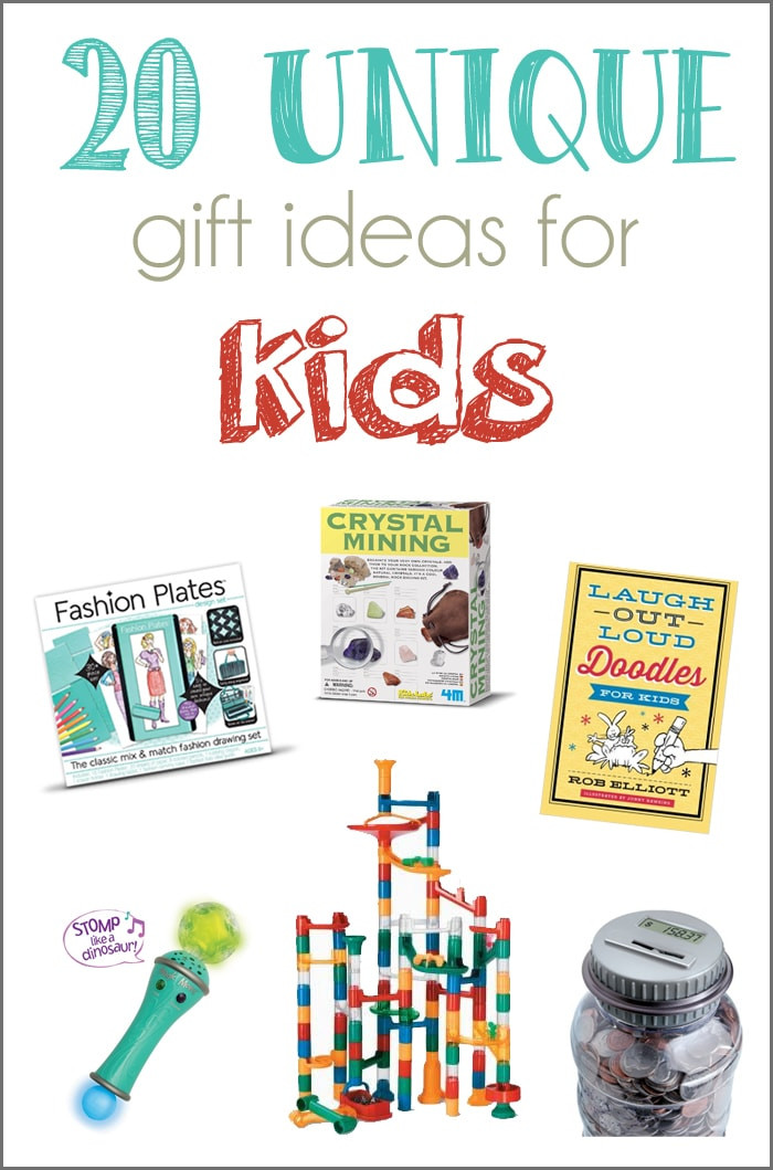 Gift Ideas For Children  20 Unique Gift Ideas for Kids and a GIVEAWAY Cutesy Crafts
