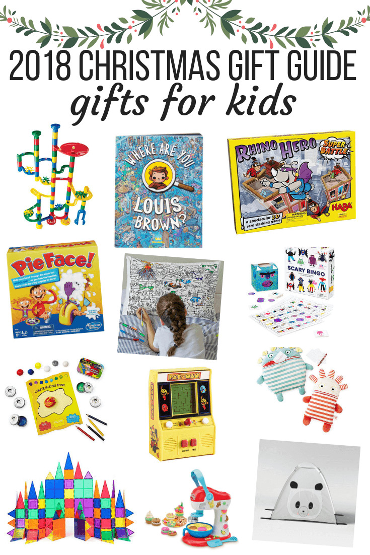 Gift Ideas For Children  2018 Christmas Gift Guide Gifts for Kids & Babies – Love